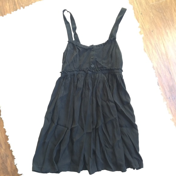 16eb36650b2bd Urban Outfitters Dresses | Cooperative Uo Black Babydoll Swing Dress ...